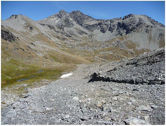 Bodenausgleichsarbeiten im Hochgebirge