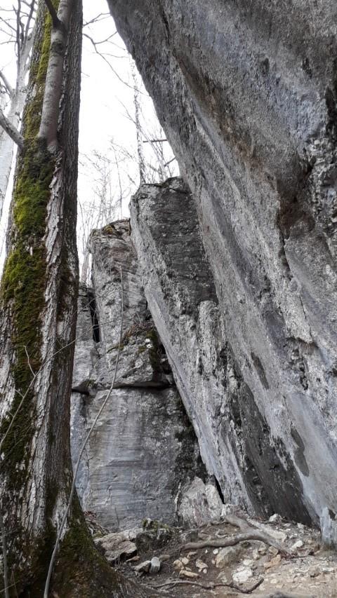 Geotop Trockene Klammen